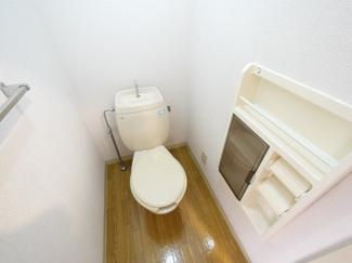 清潔なトイレは落ち着きますね