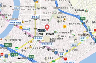 【地図】ダイシンコーポ