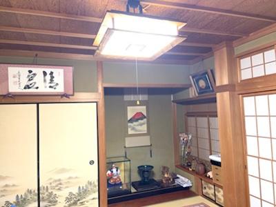 書院造の本格的な和室