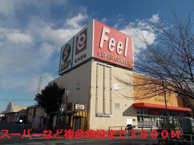 Feelまで3800m