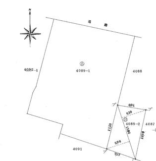 【土地図】饗庭151坪土地