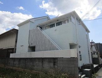 【外観パース】和歌山市野崎一棟アパート