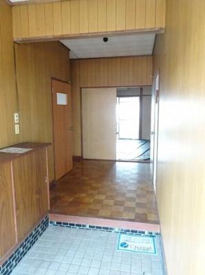 【玄関】ひばり荘アパート