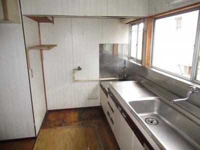 【キッチン】能代市二ツ井町荷上場・中古住宅