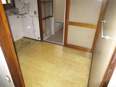 【洗面所】能代市二ツ井町荷上場・中古住宅