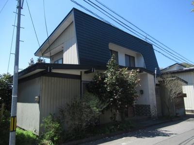 【外観】能代市二ツ井町荷上場・中古住宅