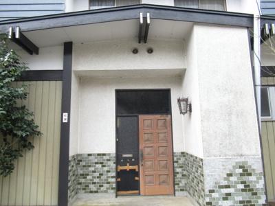 【玄関】能代市二ツ井町荷上場・中古住宅