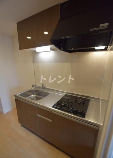 【キッチン】クレストコート神楽坂