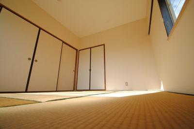 【寝室】上津コーポ