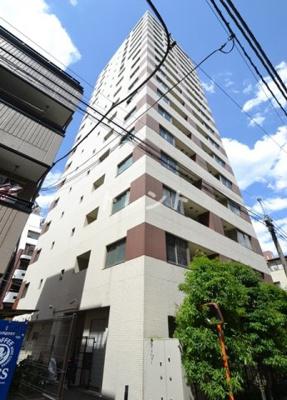 【外観】アパートメンツタワー麻布十番