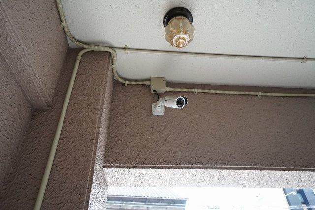 防犯カメラあり