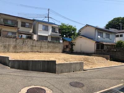 【前面道路含む現地写真】神戸市垂水区舞子台3丁目 B号地
