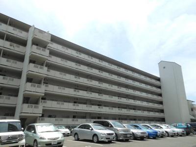【外観】千里山田コーポラスB棟