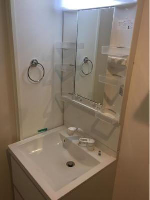 仮)梅田6丁目②A Neo N-STDsの独立洗面台、朝の身支度には欠かせません