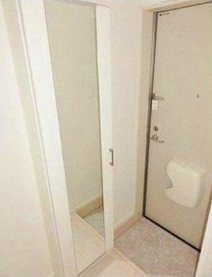 仮)梅田6丁目②A Neo N-STDsの毎日通る玄関はこちらです☆