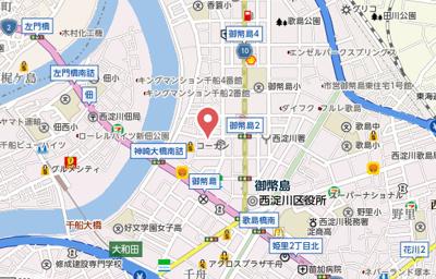 【地図】ドリームハイツ