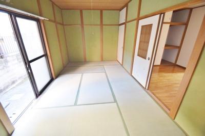 【寝室】羽曳が丘ハイコーポⅡ棟
