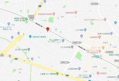 【地図】GRANDE上板橋