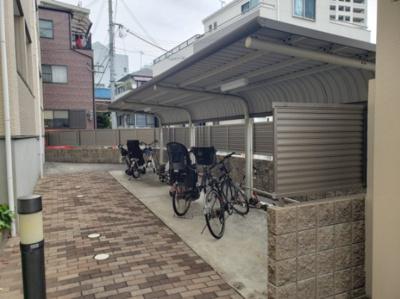 駐輪場☆神戸市垂水区 マリーン・ミナミ☆