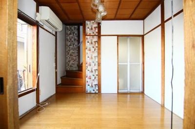 【居間・リビング】日吉本町六丁目貸家