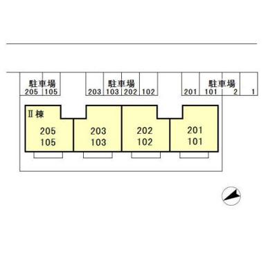【区画図】D-room(大和)Fountain Ⅱ