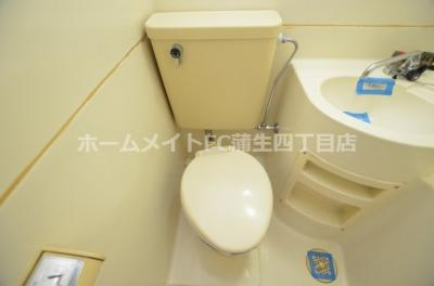 【トイレ】プレアール野江