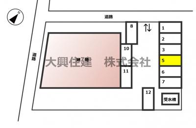 【区画図】第3都賀プラザビル