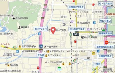 【地図】T.K.ハウス