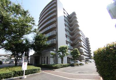 最上階!!10階部分!!平成8年建築!落ち着いた外観!南向きの日当りの良いマンションです♪