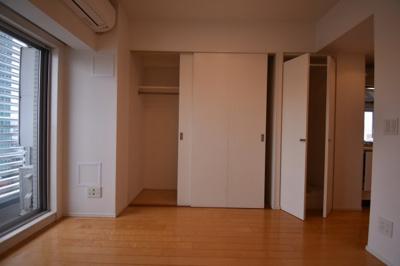 大きなスペースがあり、収納には困りません