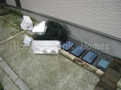 ハーモニーテラス押上のゴミ置き場