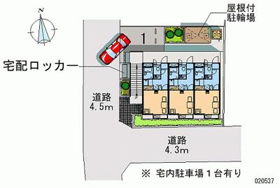 【地図】サンクレスト