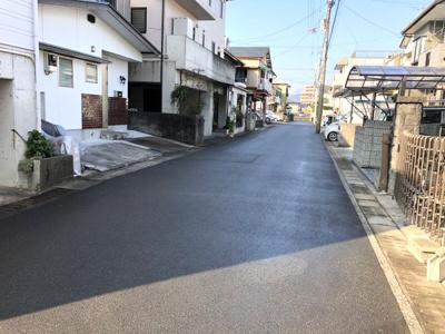 【前面道路含む現地写真】高知市神田売地