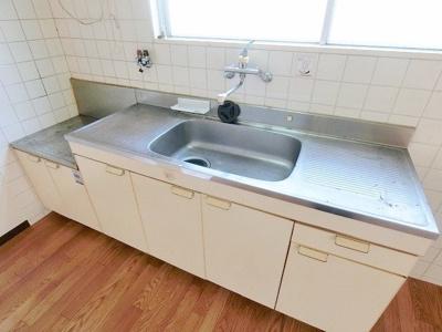 2口ガスコンロ設置可キッチン