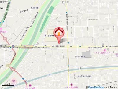 【地図】桂ビル事務所