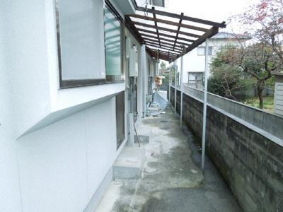 【外観】南久米乃万借家(2階建て)・
