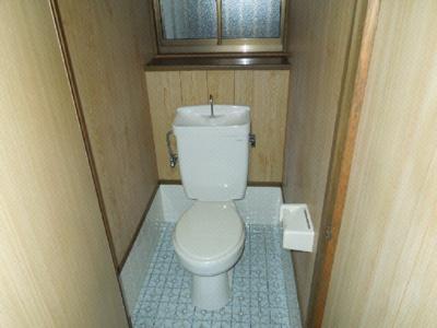 【トイレ】南久米乃万借家(2階建て)・