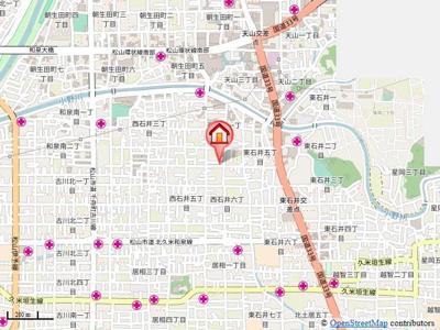 【地図】八束マンション・
