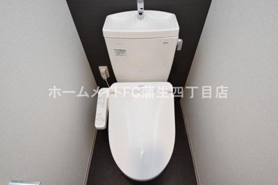 【トイレ】アドバンス大阪城シュアーヴ