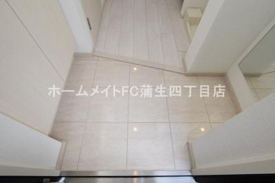 【玄関】アドバンス大阪城シュアーヴ