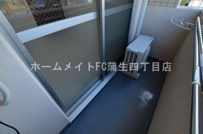【バルコニー】ETC緑橋
