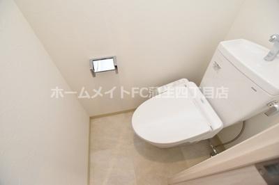 【トイレ】プレジオ城東中央