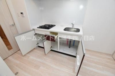 【キッチン】プレジオ城東中央
