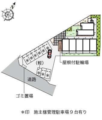 【駐車場】ガーデンハイツMori