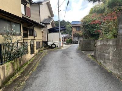 【前面道路含む現地写真】伏見区小栗栖小阪町 中古戸建