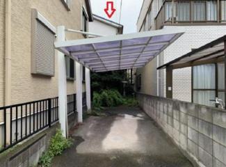 4DK 屋根付駐車場