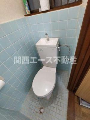 【トイレ】豊浦町貸家