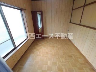 【寝室】豊浦町貸家