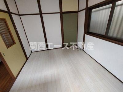 【居間・リビング】豊浦町貸家