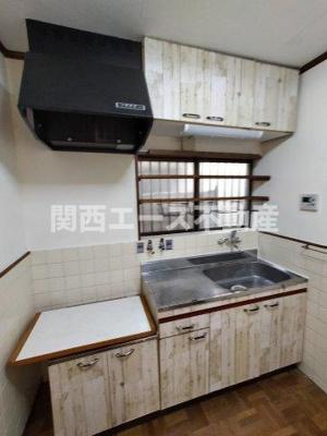 【キッチン】豊浦町貸家